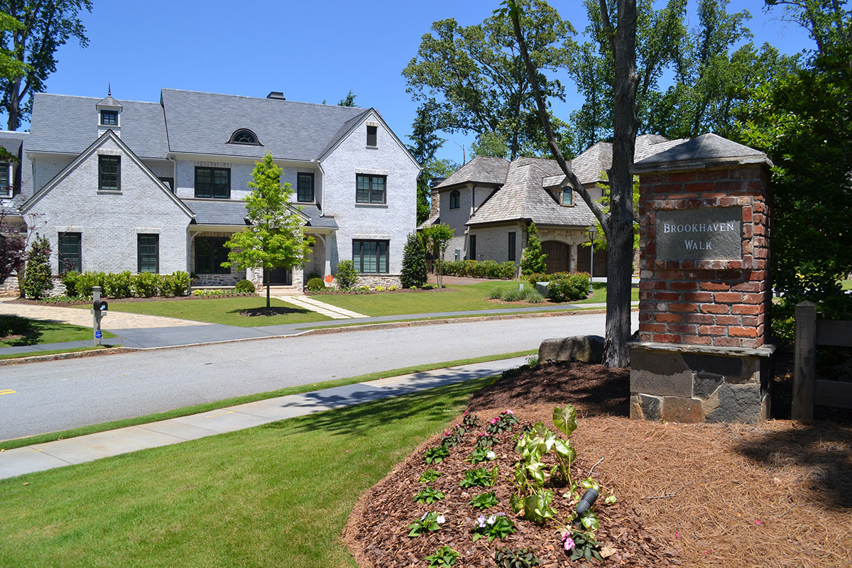 Brookhaven Walk Subdivision